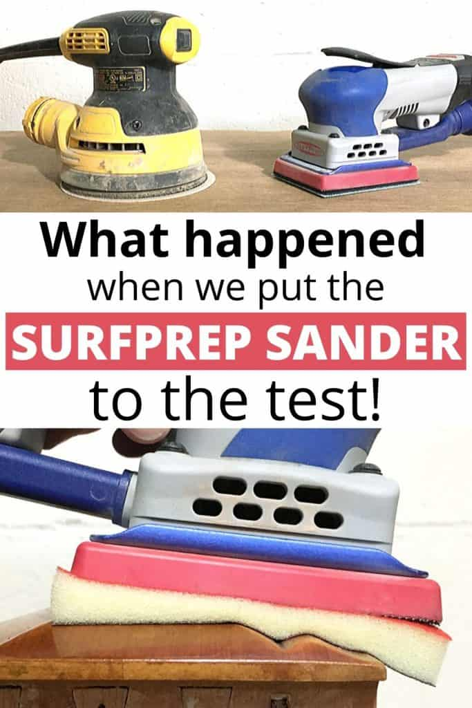 surfprep sander put to the test