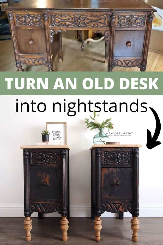 what to do with an old desk
