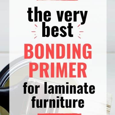 Best Bonding Primer for Laminate Furniture
