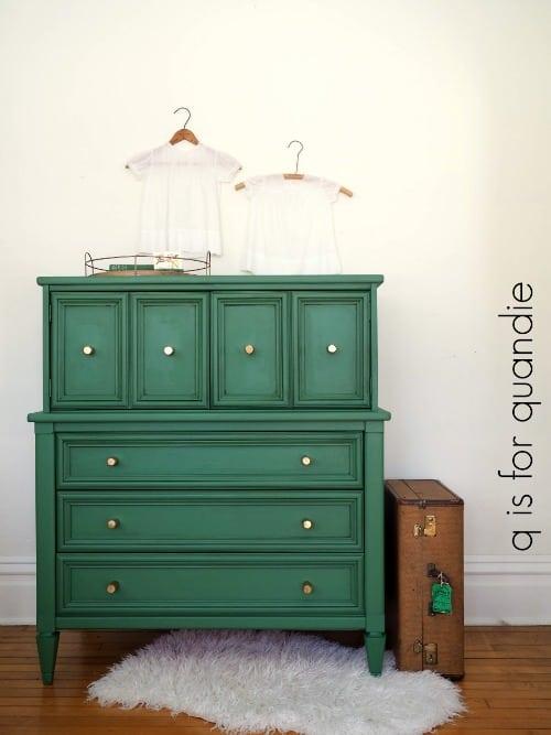 Green Modern Dresser