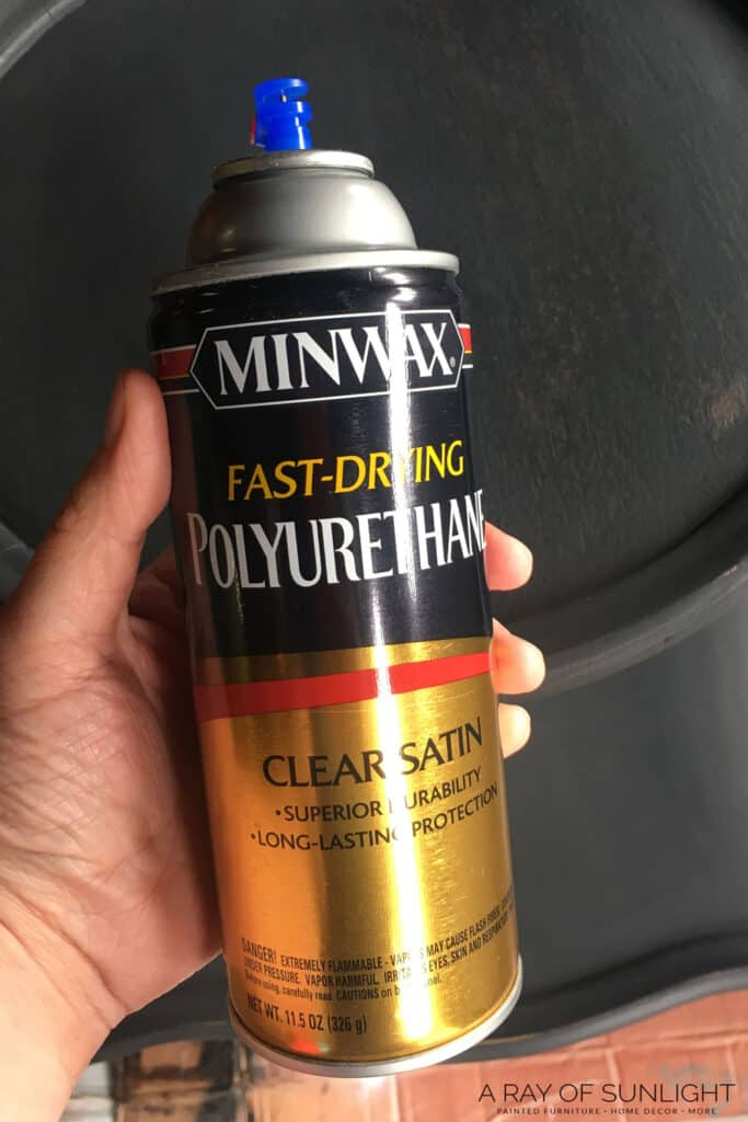 Minwax Fast Drying Polyurethane in Spray Can