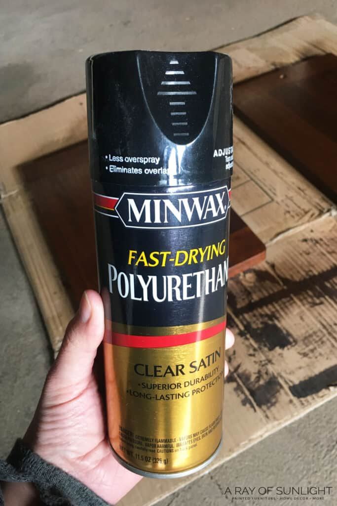 favorite oil based polyurethane in spray can
