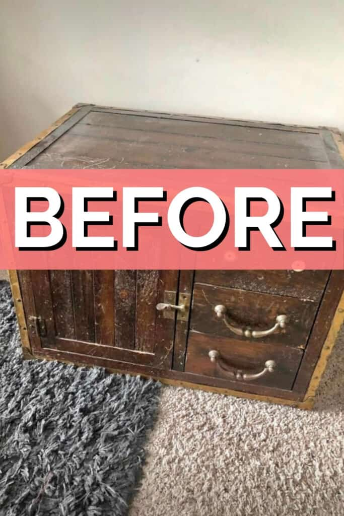 BEFORE - Trunk makeover