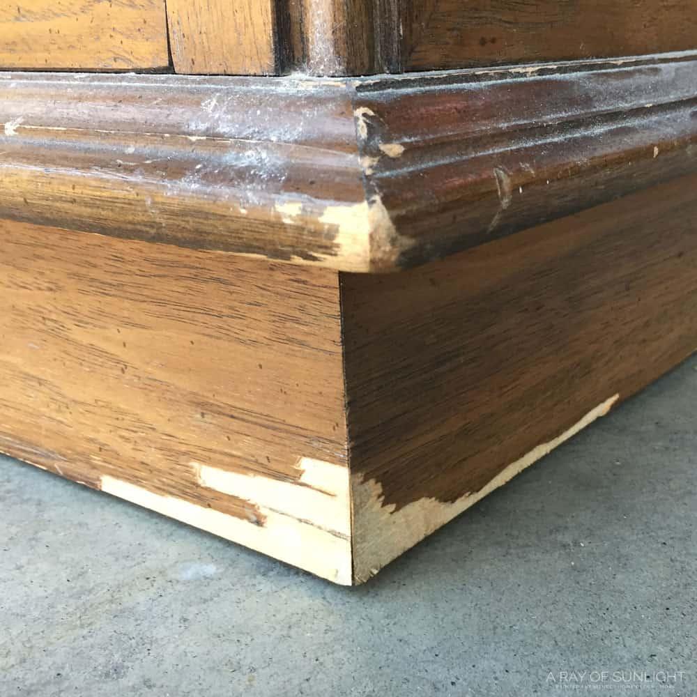 Chipped Wood Veneer