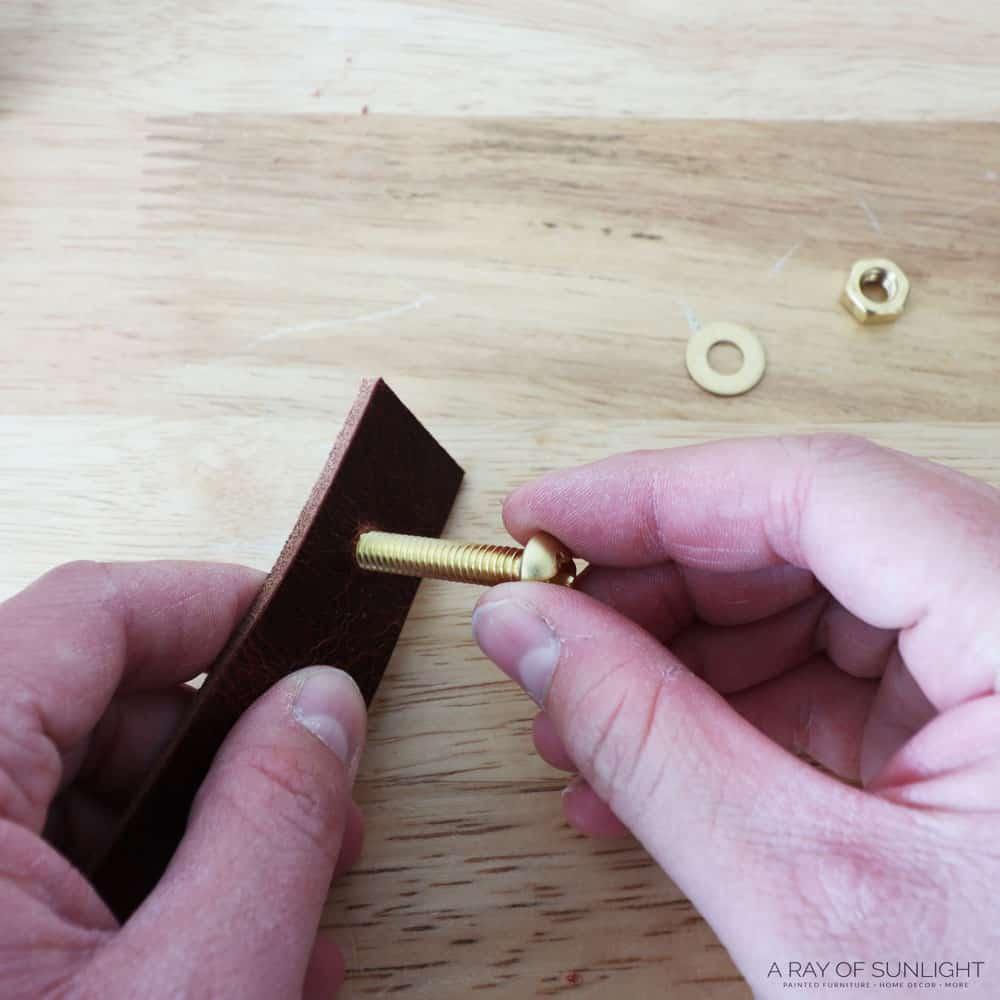 put screws in holes