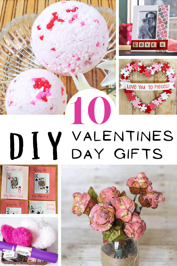 diy valentines day gifts collage