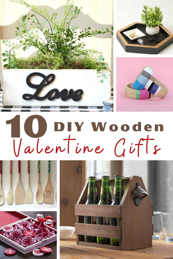 Wooden valentine gift ideas