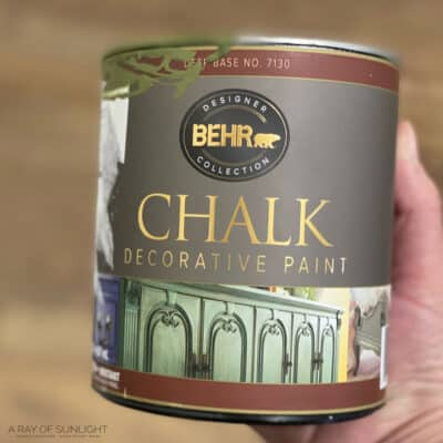 Behr Chalk Paint Review