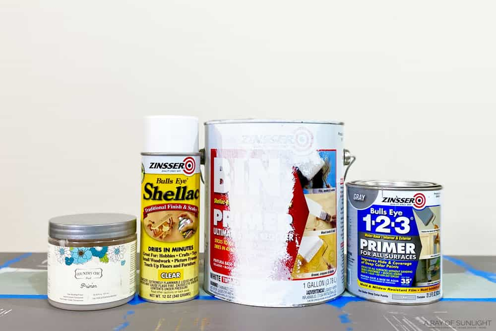 4 bonding primers to test on laminate furniture