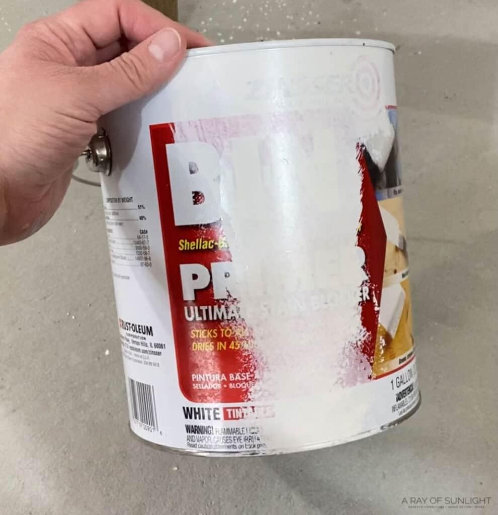 bin shellac based primer