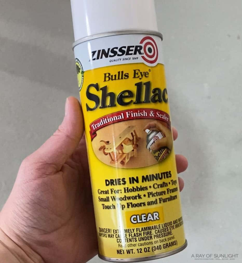 zinsser clear shellac