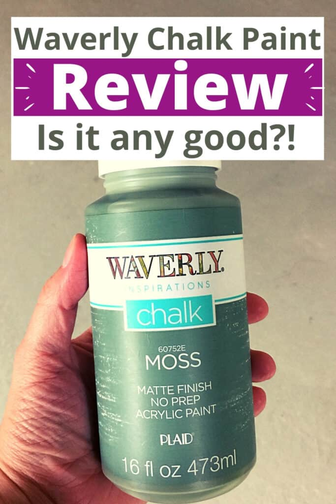 """""""waverly chalk paint review is it any good?!"""""""