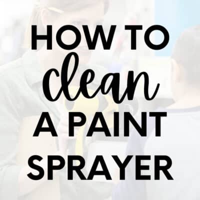 How to Clean a Wagner Paint Sprayer