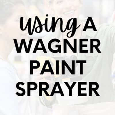 How to Use a Wagner Double Duty Paint Sprayer