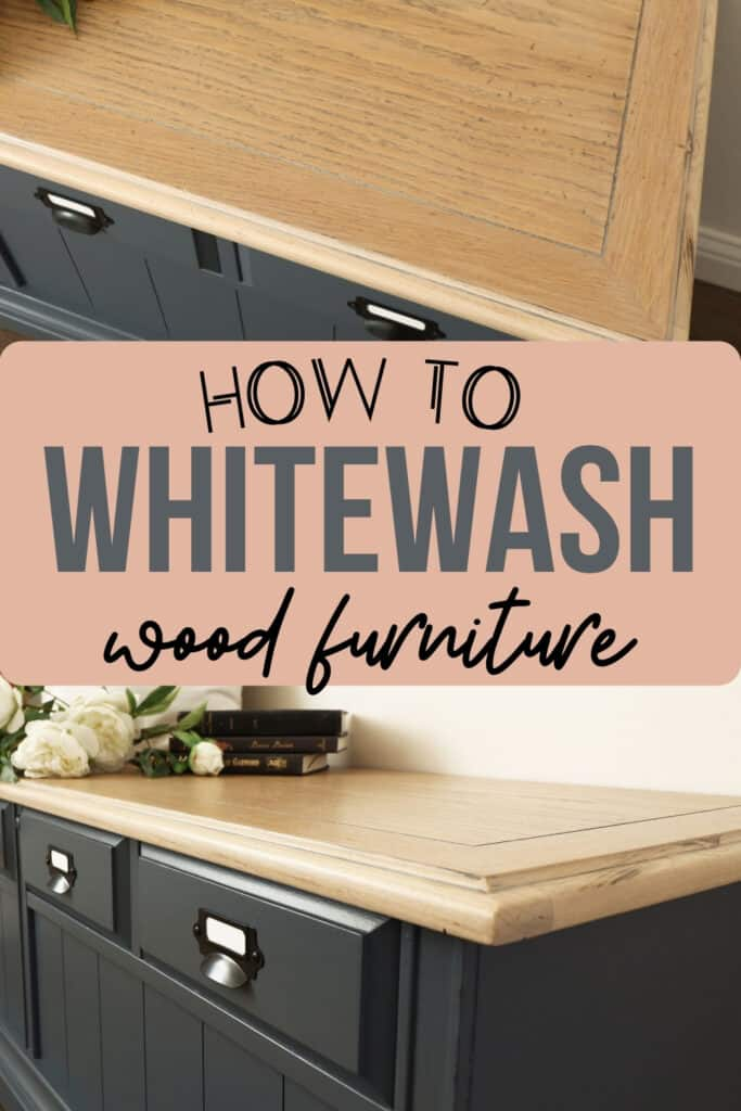 """""""how to whitewash furniture"""" with after shots of the whitewashed cedar chest"""