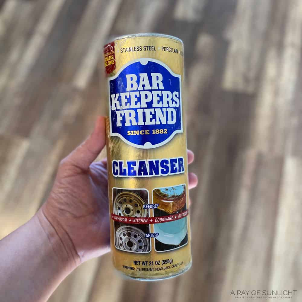 bar keepers friend -powdered version