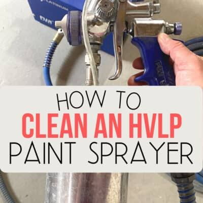 How to Clean the Fuji Q4 Paint Sprayer