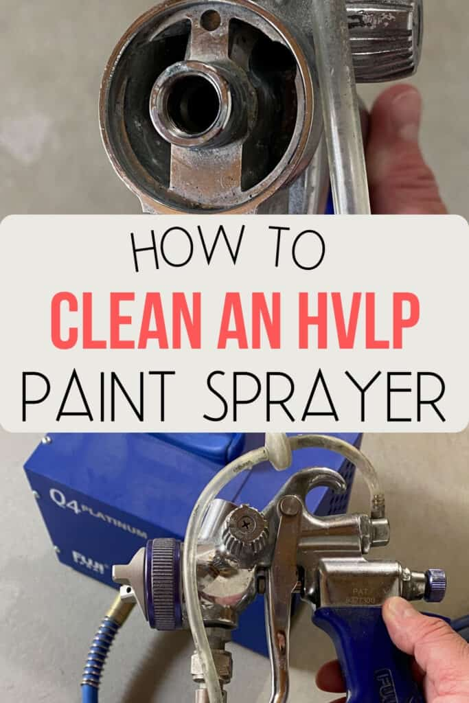 """how to clean an hvlp paint sprayer"""