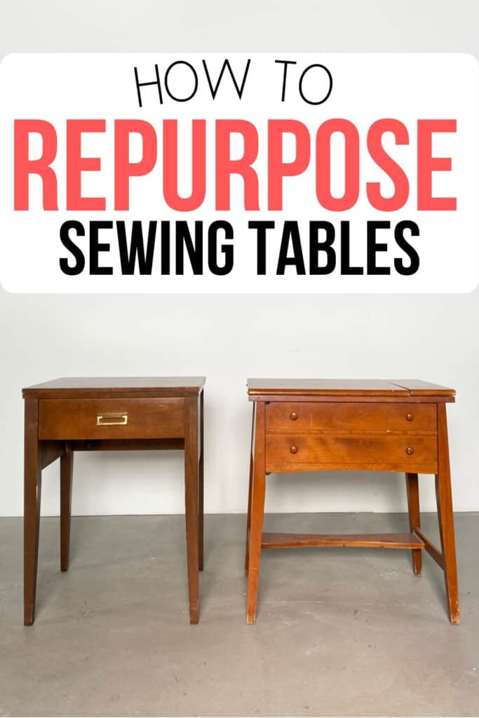 """""""How to repurpose sewing tables"""""""