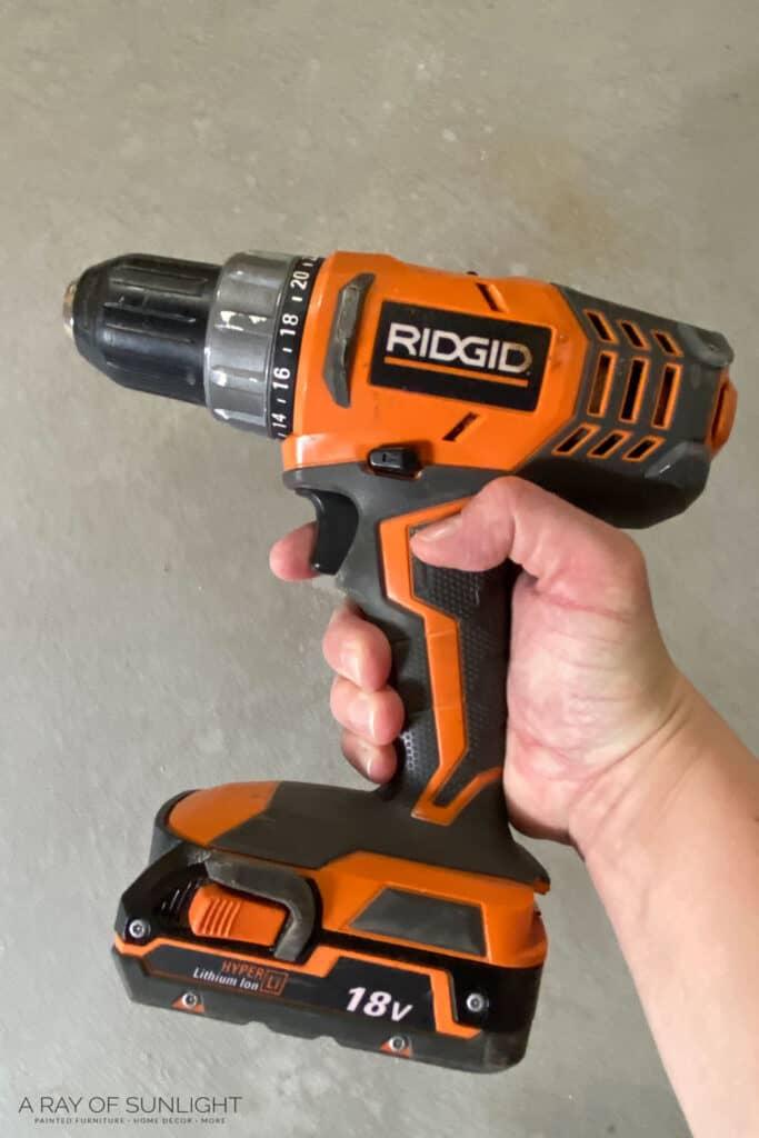 ridgid power drill
