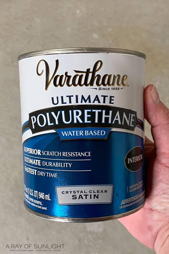 varathane polyurethane waterbased satin