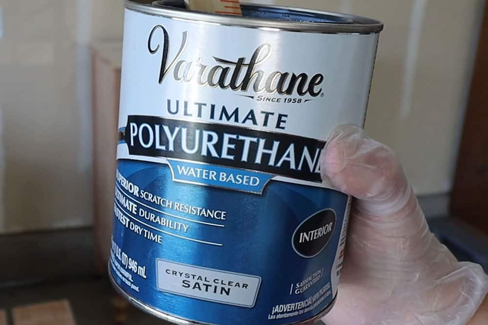 varathane waterbased polyurethane in satin