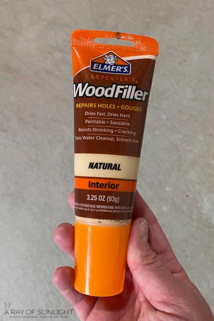 natural wood filler
