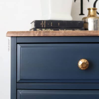 How to Glaze Over Chalk Paint