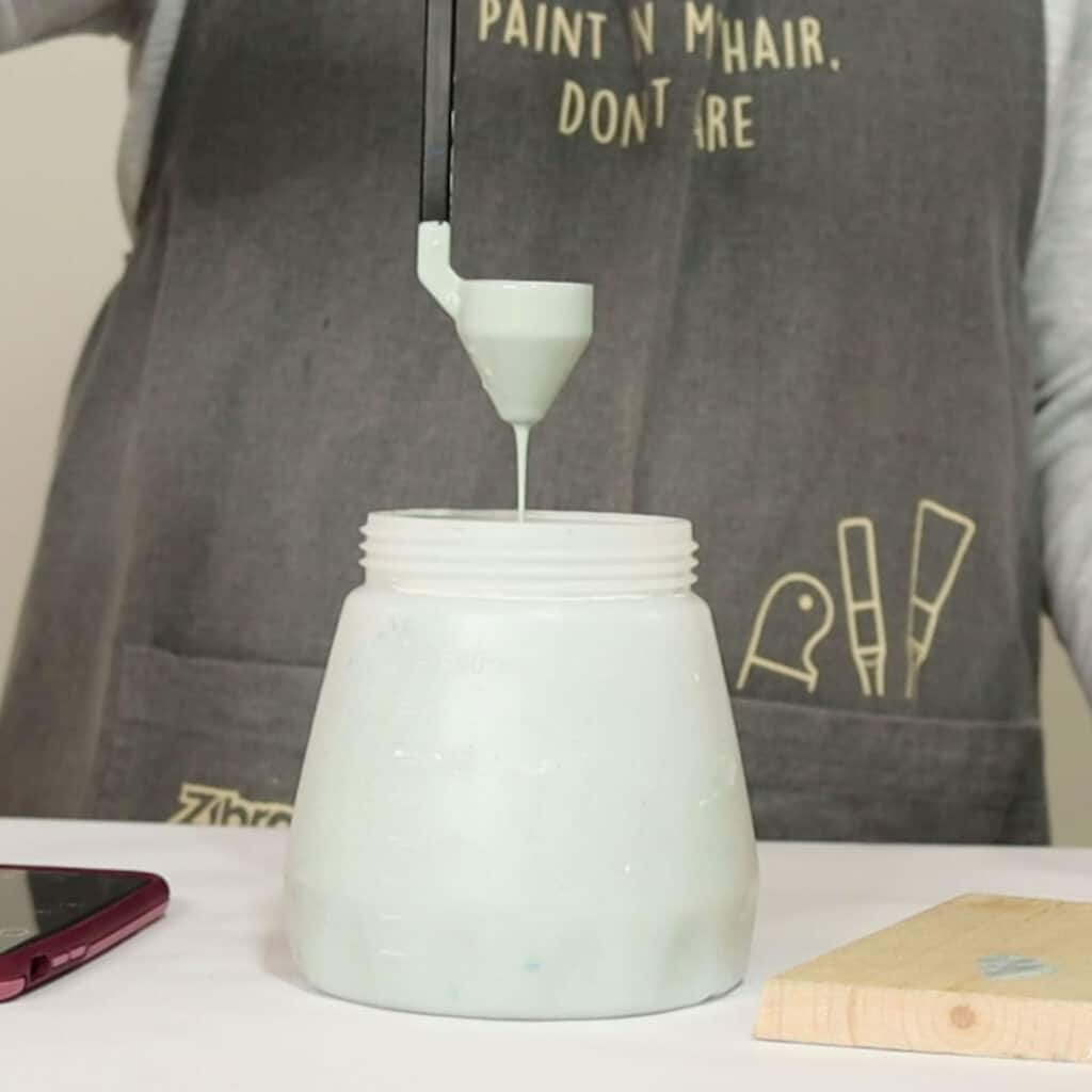 thinning paint for a paint sprayer