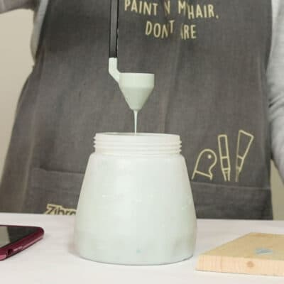 thinning chalk paint in wagner paint sprayer