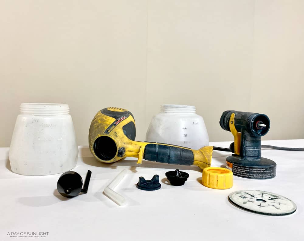 parts of wagner double duty paint sprayer