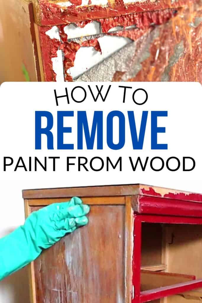 """""""how to remove paint from wood"""""""