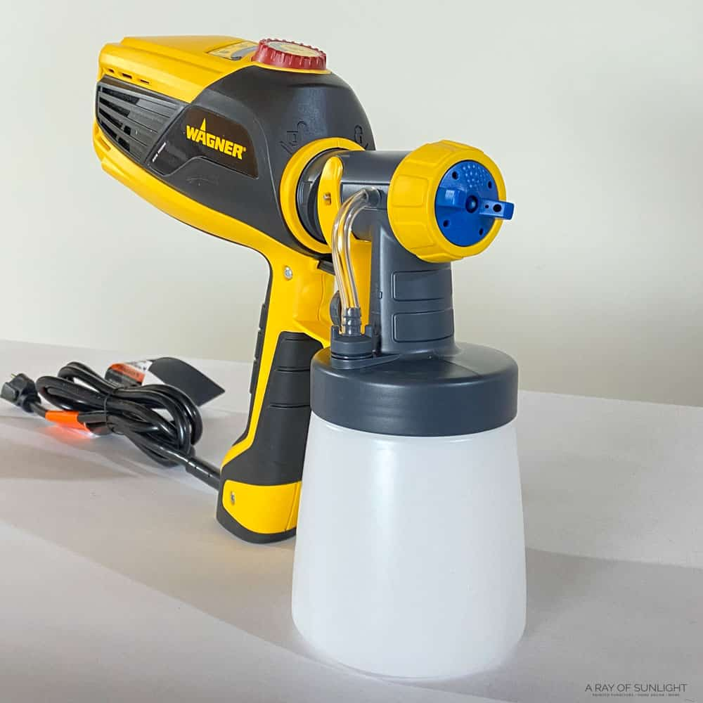 wagner flexio 3000 with detail finish nozzle