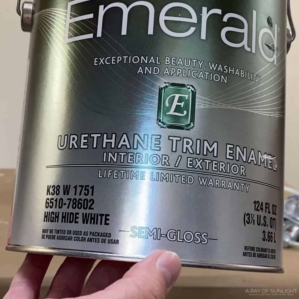 Sherwin Williams Emerald Urethane Trim Enamel