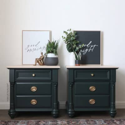 Painting Furniture with Benjamin Moore Advance Paint
