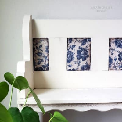 How to Decoupage Furniture with Rice Paper